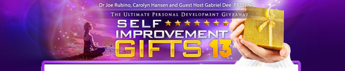 Self Improvement Gifts 10 :: WELCOME!